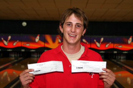 AMF BROADWAY LANES MASTERS CHAMPION AUGUST 24, 2008