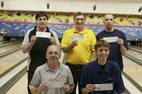 ARAPAHOE BOWL MASTERS DIV. WINNERS 11-11-07 CHAMPION CRAIG PAGERS